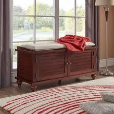 Storage Bench For Bedroom Espresso Storage Benches You U0027ll Love Wayfair
