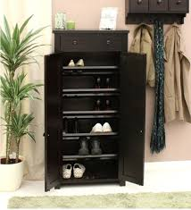 Tall Shoe Cabinet With Doors by Traditional Hallway With Copenhagen Tall Shoe Rack And 6 Shelf