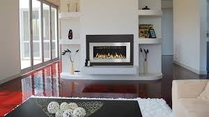 Free Standing Gas Fireplace by Home