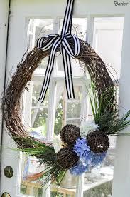 Diy Twig Wreath by Diy Grapevine Wreath Tutorial With Hydrangeas Darice