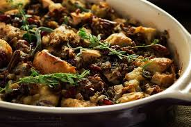 harvest sausage with pecans and cranberries the chunky chef