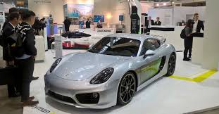 porsche supercar concept porsche cayman e volution electric concept has 124 mile range