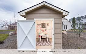 Fully Decorated Homes Danielle U0027s Design Scoop U2013 The Beautiful Backyard Shed U2013 Coleman