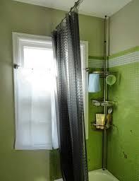 bathroom corner shower caddy for exciting bathroom storage design small bathroom design with dark shower curtains and