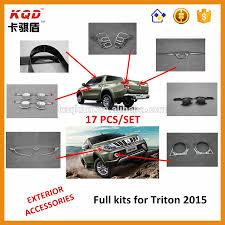 triton mitsubishi accessories chrome door handle cover mitsubishi l200 2016 accessories for