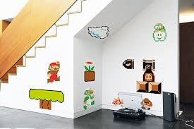 Super Mario Bedroom Decor Super Mario Bros Vinyl Wall Decals U2014 Geektyrant