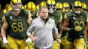 college guy style let it flow style girlfriend notre dame football inside brian kelly u0027s total overhaul si com