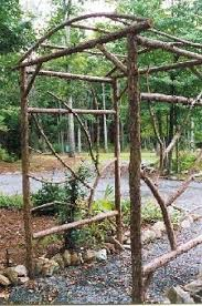 wedding arches made twigs diy arbors and trellis made from branches gardening
