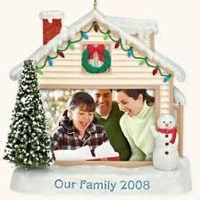 our family photo holder 2008 hallmark keepsake