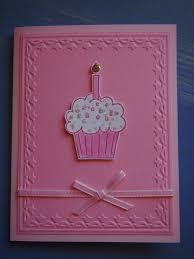 small striped bag with flower u0026 handmade 1st birthday card
