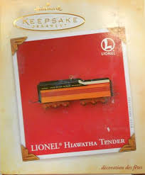 hallmark lionel trains ornaments trainz