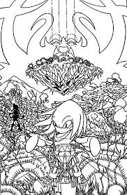 knuckles live angel island coloring pages download u0026 print