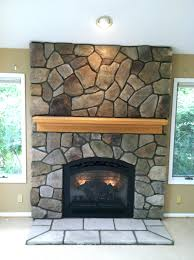 fireplace eclectic stone fireplace with stove for you stone