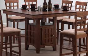 Coaster Mix And Match Counter Height Dining Table Set With Storage - Counter height dining room table with storage