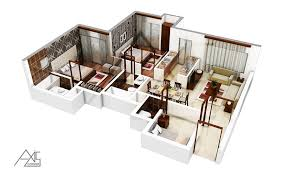 Architectural Floor Plan by 3d Architectural Floor Plans Rendering Portfolio 3d Floorplanner