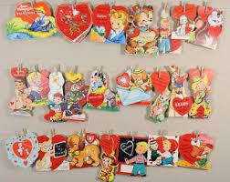 vintage valentines vintage valentines etsy