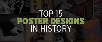 top 15 poster designs in history creative market