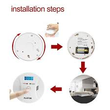Install Smoke Detector Smoke And Carbon Monoxide Alarm P Lotor Combined Co Detector
