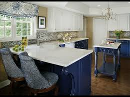 blue kitchens with white cabinets alkamedia com