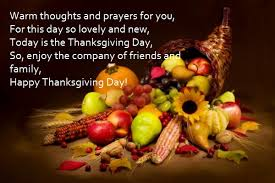 today is the thanksgiving day so enjoy the company of friends and