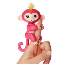 wowwee fingerlings interactive baby monkey toy bella toys