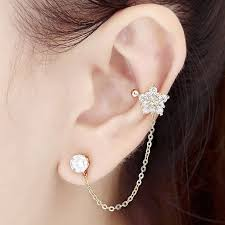connecting earrings 19 best ear cuff images on ear cuffs ear cuff
