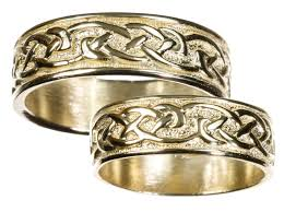 celtic wedding ring gold celtic wedding band