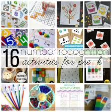 number recognition ideas pre k math wait til your father gets home