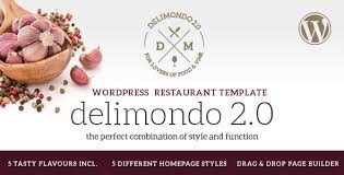 themes builder 2 0 delimondo 2 0 5 styles restaurant food wp theme by createit pl