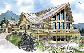 log cabin house plan 2 bedrms 2 5 baths 1987 sq ft 108 1550