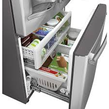 cabinet depth refrigerator lowes another view of lowes shop ge profile series profile 22 1 cu ft