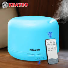 mist humidifier air ultrasonic humidifiers aroma essential remote control 300ml ultrasonic air aroma humidifier with 7 color