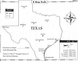 Texas Map Austin Map Skills Lessons Tes Teach