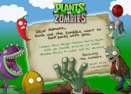 plants vs zombies party invitation by rootdown on etsy lane u0027s