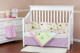Girls Jungle Bedding by Five Piece Crib Bedding Sets For Girls