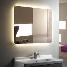 8x lighted vanity mirror led wall mount mirror vertical rectangle led bathroom mirror