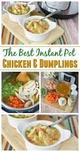 Southern Comfort Meals The Best Instant Pot Chicken U0026 Dumplings Recipe Southern Comfort