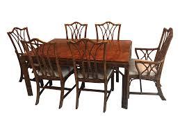 Henredon Dining Room Table Henredon Dining Set Henredon Chinoiserie Dining Room Chairs Set Of