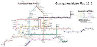 Madrid Subway Map Guangzhou Metro Map 2010 Jpg 2686 1319 A Pinterest