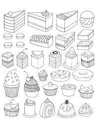desert scene coloring perfect dessert book pages