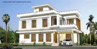villa house plan kerala home designs photos khp latest interesting