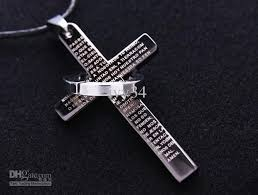 mens engraved necklaces engraved cross necklace andino jewellery