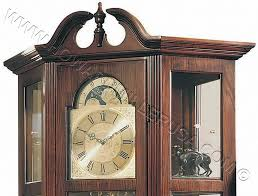 Antique Curio Cabinet With Clock Ridgeway Curio Grandfather Clock 9701 Richardson I