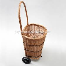 wicker storage basket with wheels wicker storage basket with