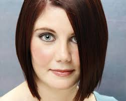 medium length angled hairstyles medium length bob hair