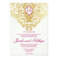 wedding invitations quincy il fancy flourishes gold indian arabic wedding invitation collection