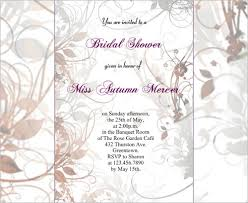 bridal shower invitation templates 25 bridal shower invitations templates psd invitations free