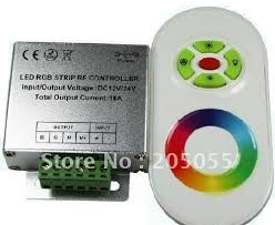 tape lights with remote 12v 18a wireless rf dimmer controller touch touching remote controll
