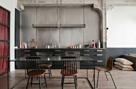 cuisine metal cuisine industrielle l élégance brute en 82 photos exceptionnelles