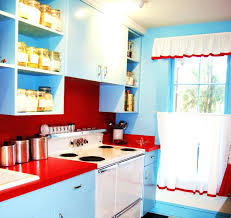 Red Kitchen Curtain by Black White And Yellow Kitchen Curtains Red And White Country